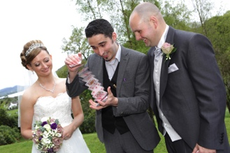 Wedding magic in Cumbria